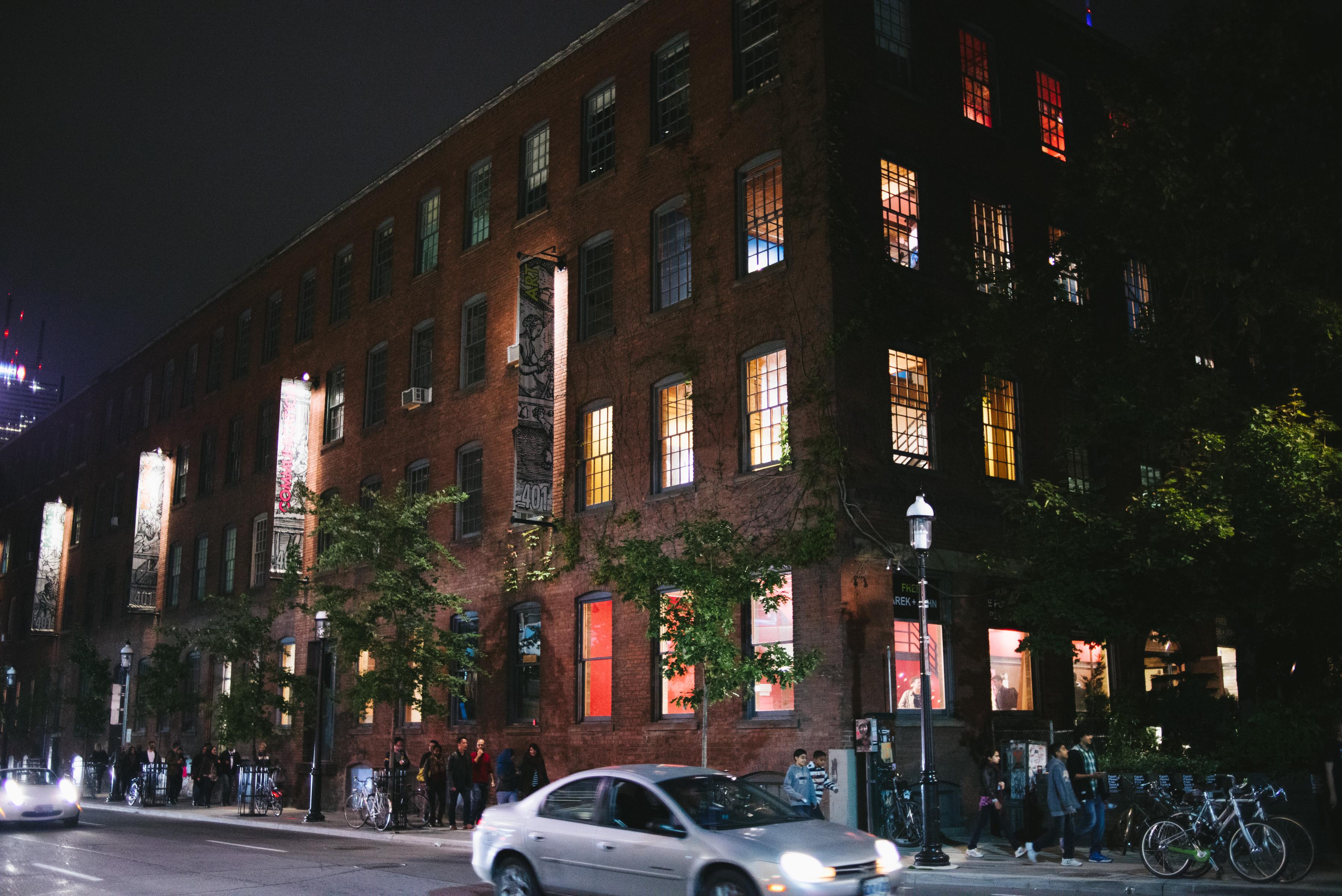401-exterior-night